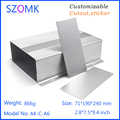 aluminium case for led lights aluminum enclosure extrusion enclosure