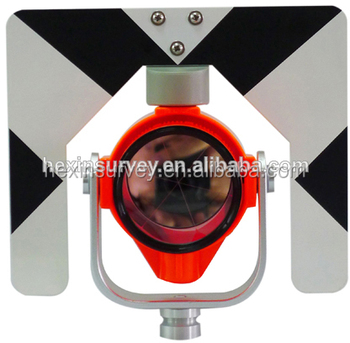 Total station surveying equipment prism