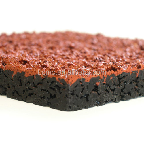 good weather resistance rubber running track athletics track surfaces synthetic rubber track