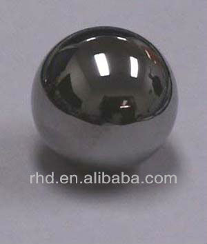 Magnetic bearing balls, Stainless steel material