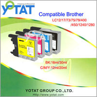 LC17 LC77 LC79 LC450 LC1280XL For Brother compatible ink cartridge