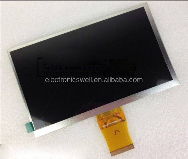"Brand New 7"" inch 50 Pin 800*480 Tablet PC LCD Display Screen Replacement For Ericsson Along M701TS Digital FPC-Y81349 V02"