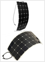 Sun power flexible high efficiency mono solar module 100W solar panel for boat, marine