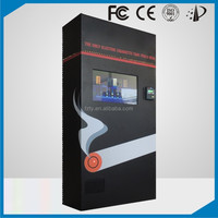 Combo cigarette vending machine for electronic and packet cigarette