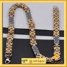Classics black beads gold chain designs in hot sale