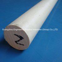 Factory price very rigid cnc machining HPV PPS bar PPS-CA30 rod plastic PPS bar