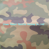 china textile factory camo waterproof fabric