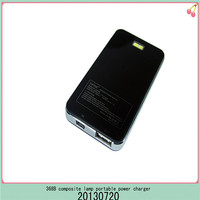 led torch lights power bank cellular phone accessory