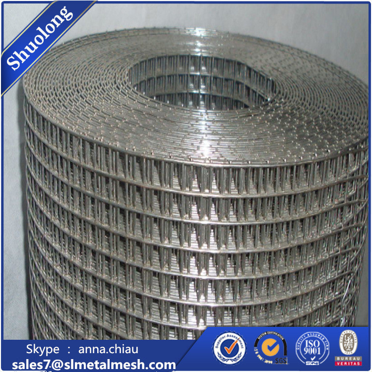 PVC coating or Galvanized 3/8 inch 1x1 Galvanized Welded Wire Mesh