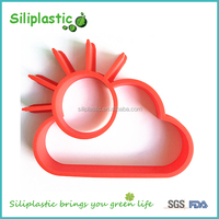 Sun shaped food grade heat resistant silicone fried egg shapes