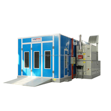 Economic Type Car Painting Cabinet with RIELLO burner from China factory
