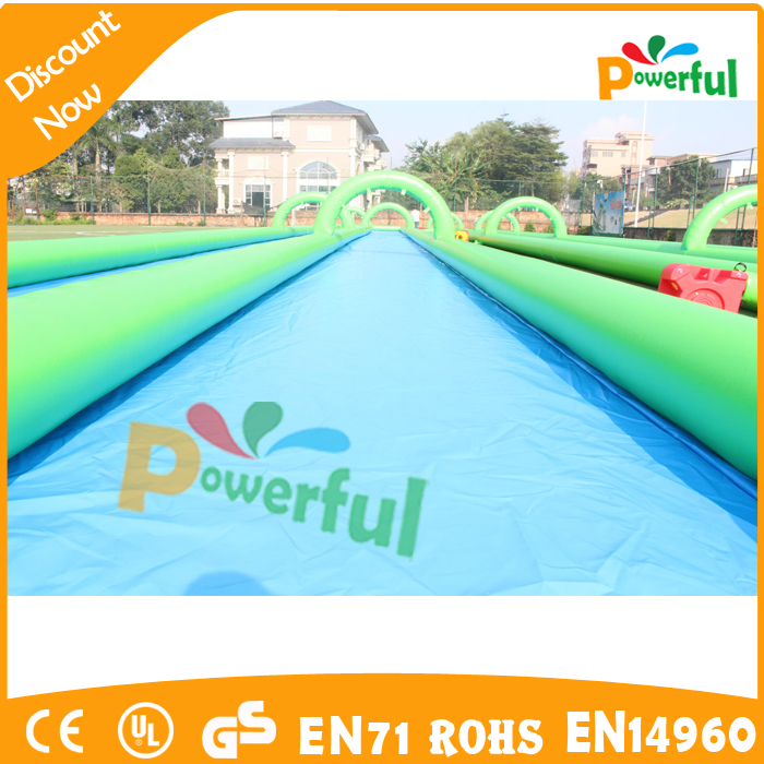 Cheap inflatable double lane water slide for <strong>sale</strong>
