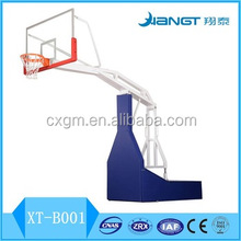 New model spring lifting partable adjustable basketball stand hoop
