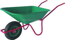 Europe model with plastic tray and good quality wheel barrow,WB4029 56L Wheelbarrow
