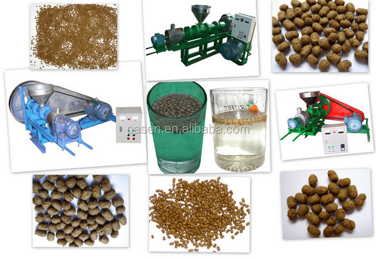 Animal Feed Processing Equipments Pet Food Making Line/Animal Food Production Line/Fish Feed Extruder Machine