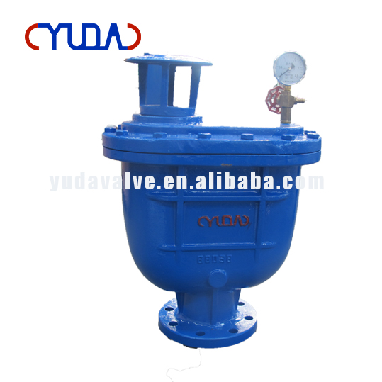 DN80 PN16 ductile iron combine air vent valve with high quality size
