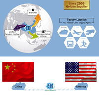 High Competitive LCL/FCL consolidation shipping service shanghai to USA