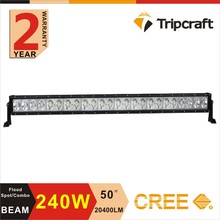 40 inch 240W 4x4 led driving light bar offroad led light bar headlight for aladdin lamp