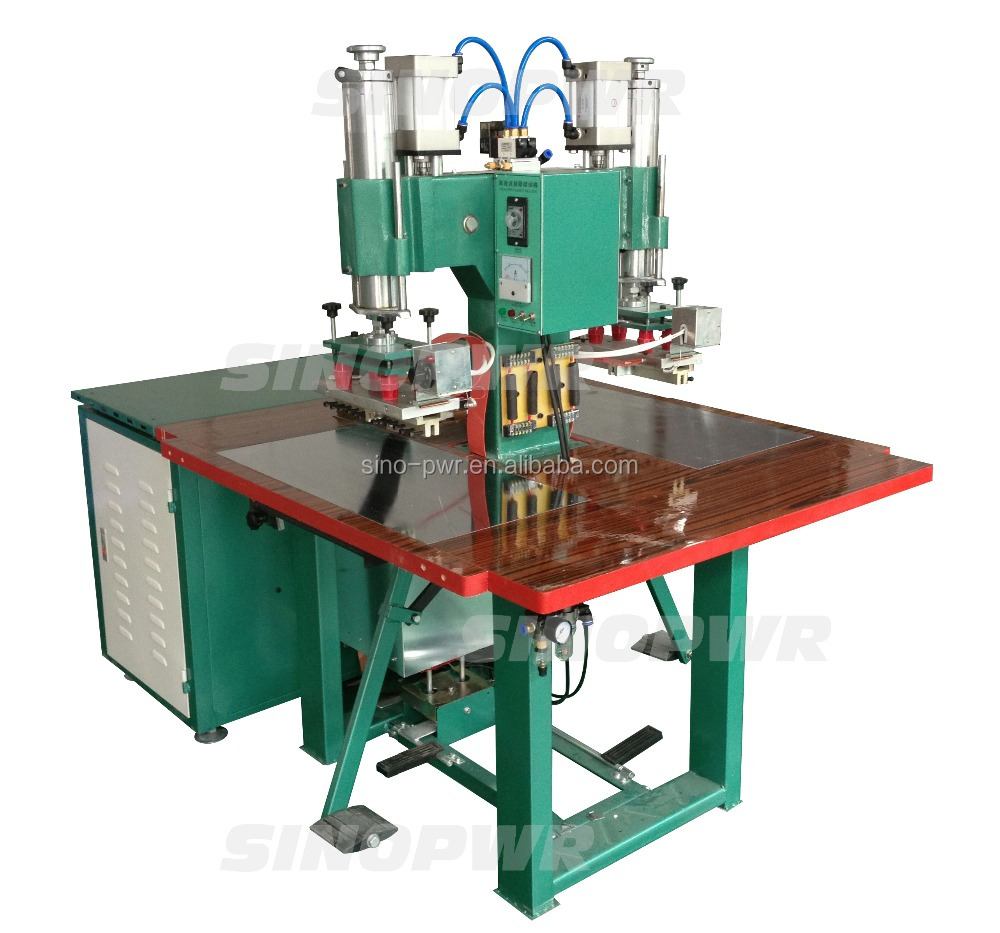 sinopower machine to harpoon on pvc film high frequency PVC streth ceiling welding machine