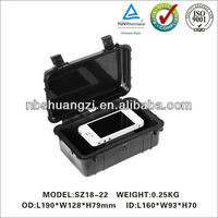 New style hard plastic equipment case with foam for ipad