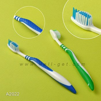 A2022 Distributor Need Toothbrush Adult with Tongue Cleaner A2022