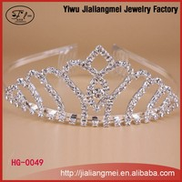 Wholesale fashion rhinestone crystal beauty pageant crowns & tiaras