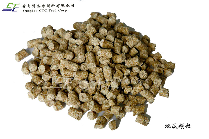 Dehydrated Sweet potato pellet