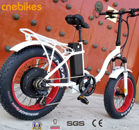 2018 hot selling 36v 48v 250w 500w electric bicycle 20'' fat tire folding ebike