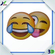2016 new wholesale pvc emoji mask custom emoji mask party mask halloween mask