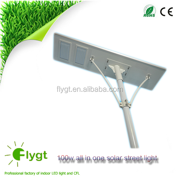 100w solar street lamp ip65 rohs ce approved waterproof led street light livarno lux led