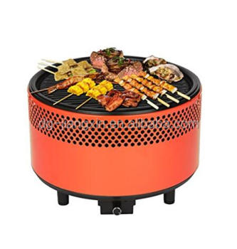 New design Round Tabletop Charcoal grill