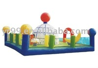 Funny inflatable observatory castle inflatable jumping bed inflatable bouncer