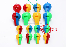 pp material whistle toy for kids.