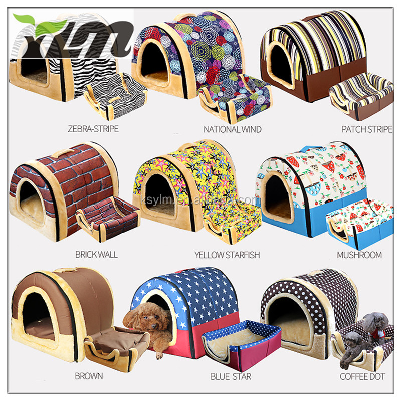 Top Quality Decorative Design Indoor Dog House Pet Bed