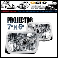 7 inch Square Semi Sealed Beam with Projector