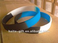 2014 cheap custom silicone slap bracelet