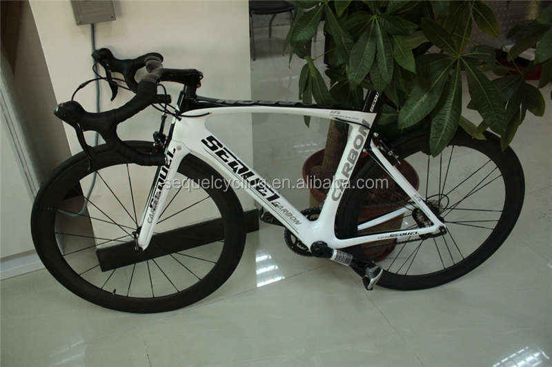 2016 SEQUEL Carbon Road Bicycle T800 UD 1k carbon fiber Racing Bike outdoor cycling different groupsets complete bike