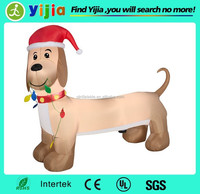 6ft custom decoration inflatable dachshund
