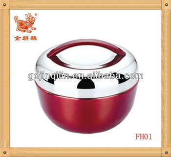 China wholesale high quality stainless steel apple shape lunch box for family use