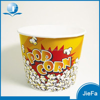 Hot Selling Party Decoration Paper Popcorn Cup