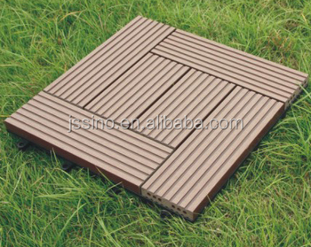Natural timber appearance wood look non slip interlocking for Non slip composite decking