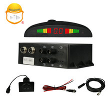 Truck Automotive Reversing Aid System Ultrasonic Ranging Reverse Radar Parking Sensor System with 4 sensors