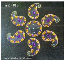 Decorative Rangoli Ambi Design