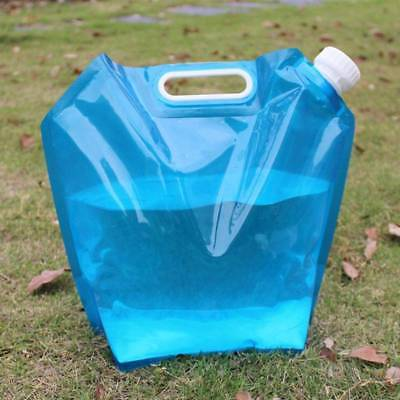 1L 5L Custom Printing Outdoor Packaging Top Spout Pouch Foldable Water Bag With Handle