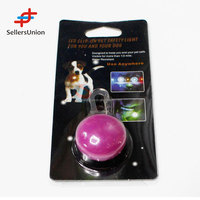 2017 No.1 Yiwu agent commission agent needed Bright Dog Pet Cat LED Night Safety Flash Light for Collar