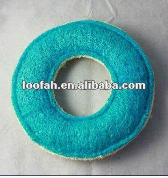 The beat promotion natural loofah/luffa ring for dog