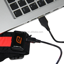 popular usb rechargeable new item led running belt with buckle