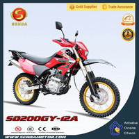 New Model 200cc Dirt Bike/Off Road Bike Chongqing Motorcycle and Parts Manufacturing Company HyperBiz SD200GY-12A