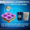 rtv-2 silicone rubber for silicone vacuum bagging,cake mold,top-seller