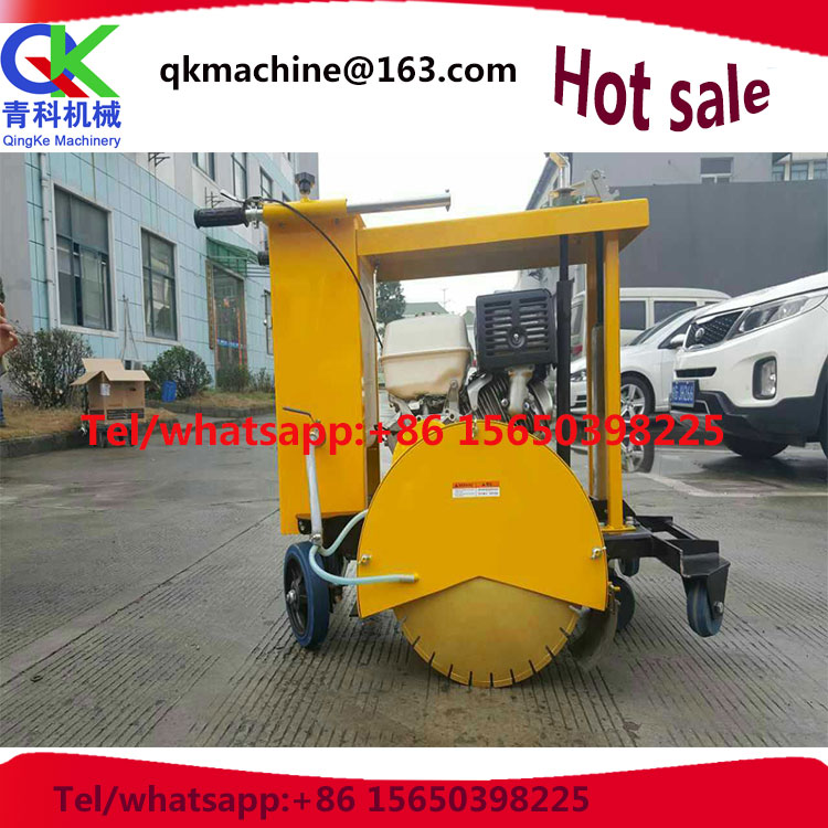 Hand push manhole covers road cutter/quality road cutting machine
